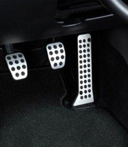 Mazda 3 Alu Pedalsatz 3-teilig original nur für Schaltgetriebe BM ab 05.2013