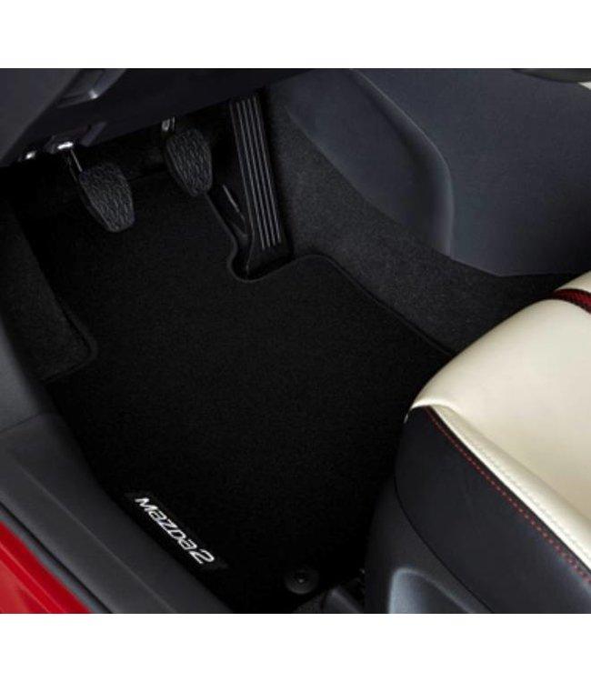 Mazda 2 Fußmattensatz Standard original ab. 02.2015