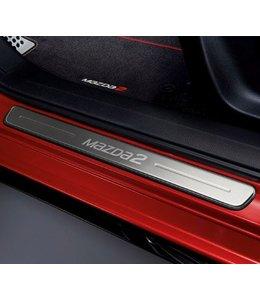 Mazda 2 NEU Einstiegsblenden Edelstahl original ab 2015