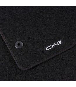 Mazda CX-3 Fußmattensatz Standard original