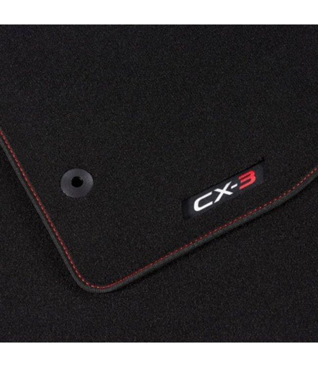 Mazda CX-3 Fußmattensatz Luxury original
