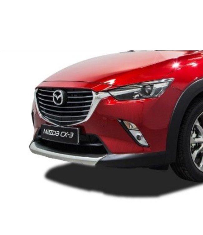 Mazda CX-3 Design-Unterfahrschutz vorne + hinten Lackiert in Matt Silber