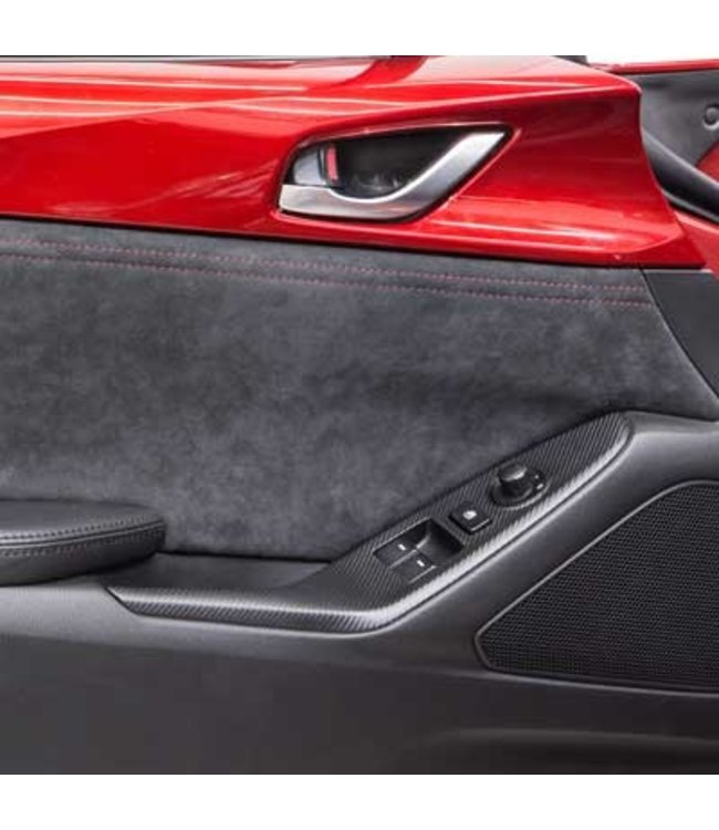 Mazda MX-5 ND Türverkleidungen aus Alcantara original