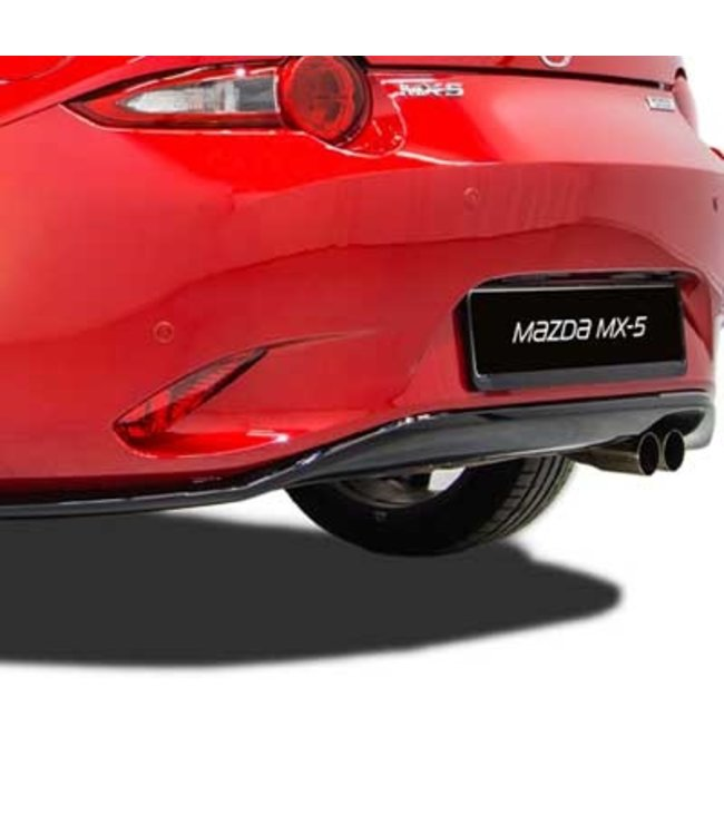 Mazda MX-5 ND Heckschürzeschwarz lackiert original
