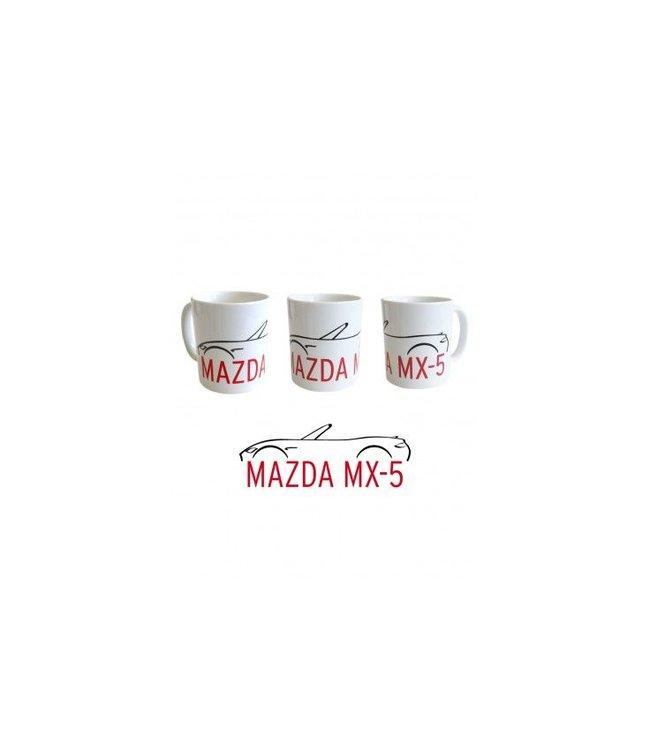 Mazda MX-5 Kaffee Tee Becher mit MX-5 Druck