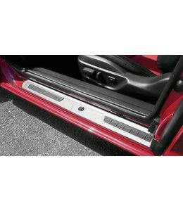 Mazda RX-8 Einstiegsblenden Leisten aus Aluminium 2-teilig