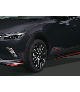 Mazda CX-3 Folierung Seitlich unten