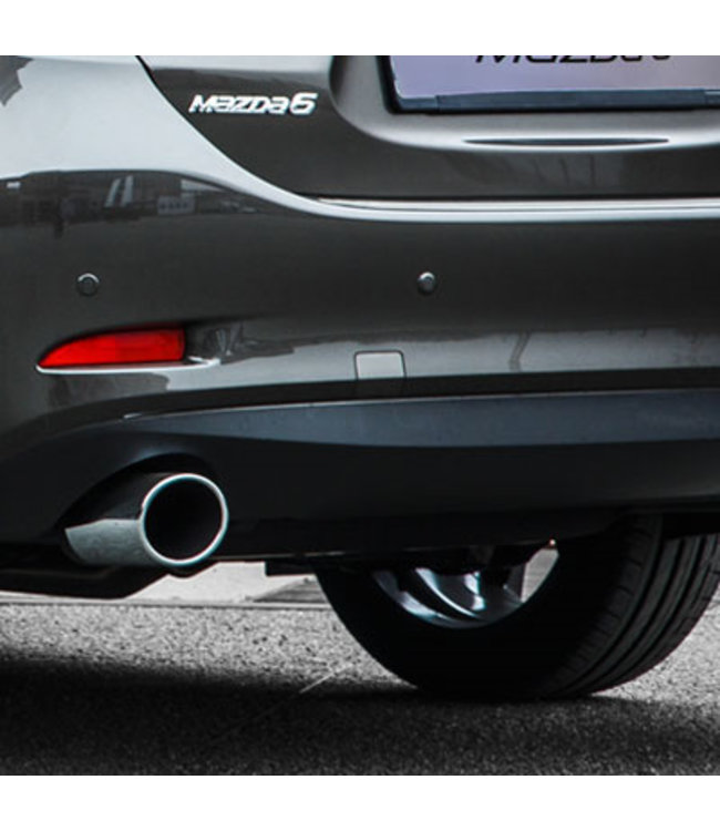 Mazda 6 Sport Endschalldämpfer-Sportauspuff Sebring ab 08.2012 GL GJ GH