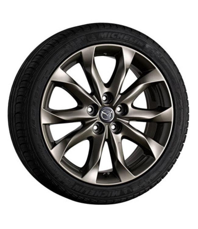 Mazda 3 Leichtmetallfelge 7Jx18 Design 152A Alufelgen titangrau original BM BN