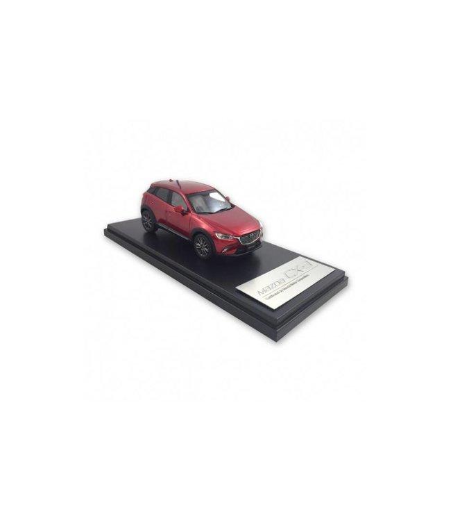 Mazda CX-3 Modellauto Maßstab: ca. 1:40 rot metallic