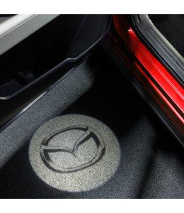Mazda CX-5 KF ab 2017 Tür-Projektor mit Mazda Logo original