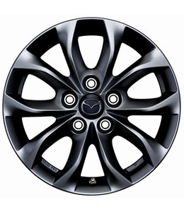 Mazda 3 Alufelgen Design 62  titangrau 6,5J x 16 original BN BM ab 10/2013