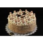 Hazelnootschuim taart