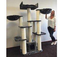 RHRQuality Cat Tree Maine Coon Fantasy Anthracite