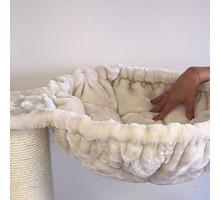 RHRQuality Hangmat 45cm de Luxe Crème Ø 12cm