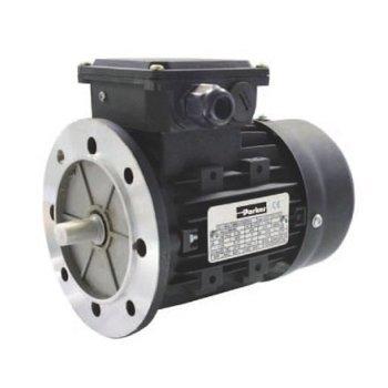Parker MR-4P00075-10-B0T01-0000 0.75kW Asynchronmotor mit Fussmontage