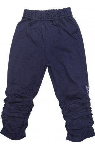 PomPom legging navyblauw