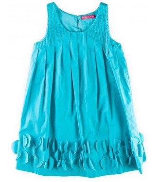 Derhy Kids 60% korting: feestjurkje in turquoise