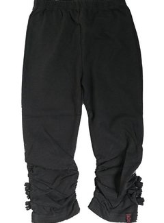 ZieZoo legging antraciet driekwart, maat 104