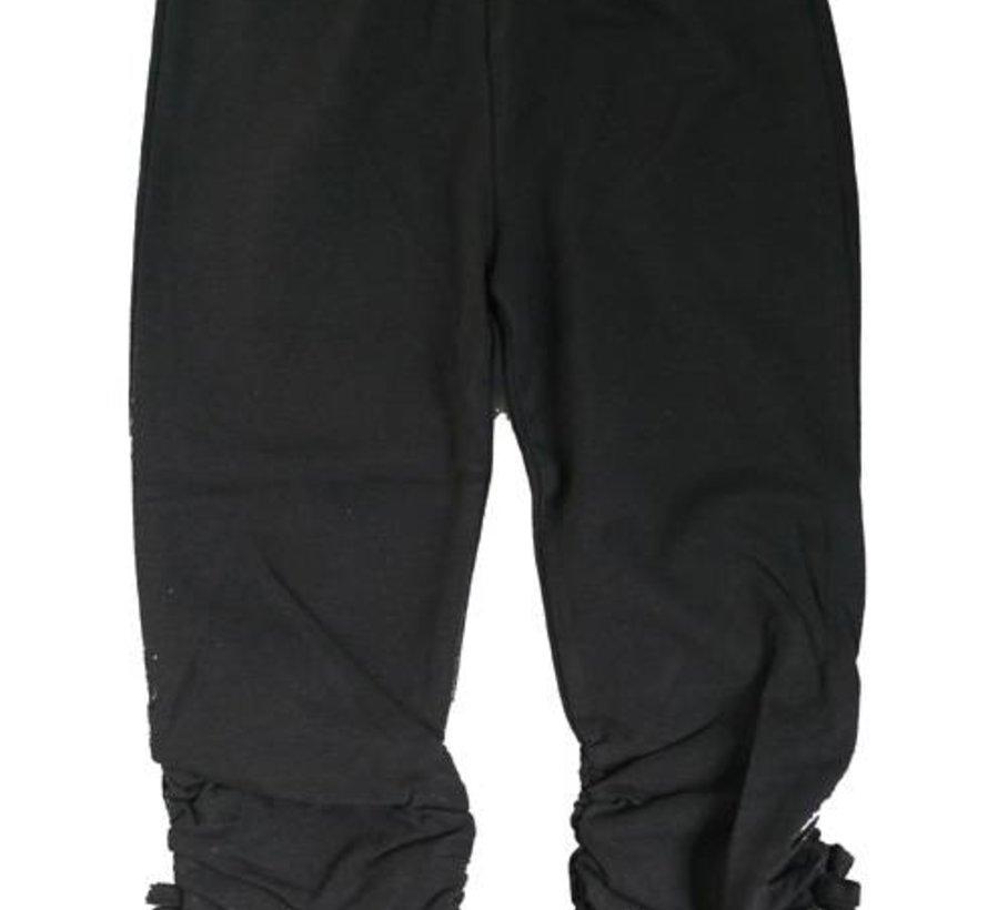 Legging antraciet 3/4 model