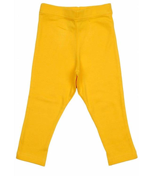 DUNS Sweden Legging geel van DUNS