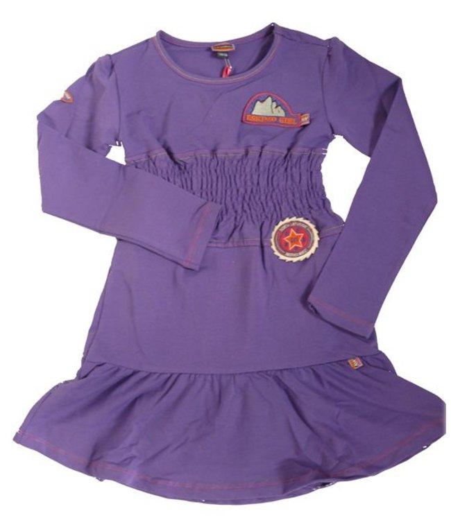 Another World Meisjesjurkje in paars violet van AW Kidswear, maat 152/158