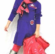 Another World LAATSTE: mt 152/158: meisjesjurkje in paars violet