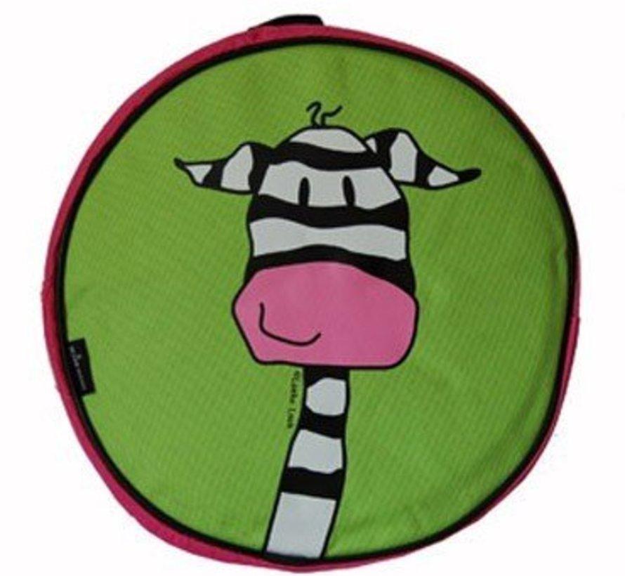 Kinderrugzak zebra van Loeke Look (Dutch Heroes)