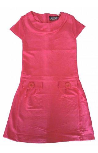 Knot so Bad 60% korting: roze 'Jacky' jurkje