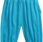 Maxomorra yogapants turquoise 3/4