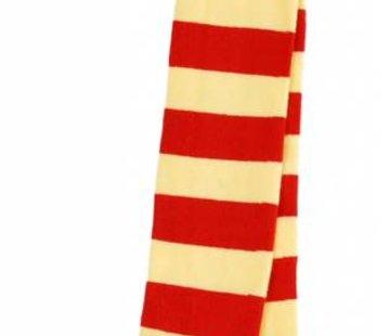 DUNS Sweden Maillot gestreept rood geel