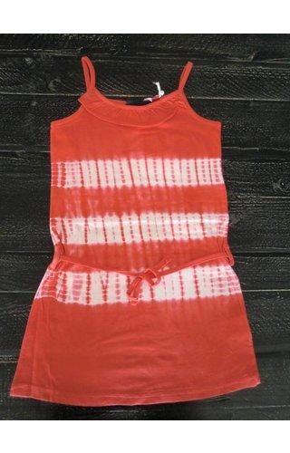Knot so Bad 60% korting: tie and dye jurkje rood