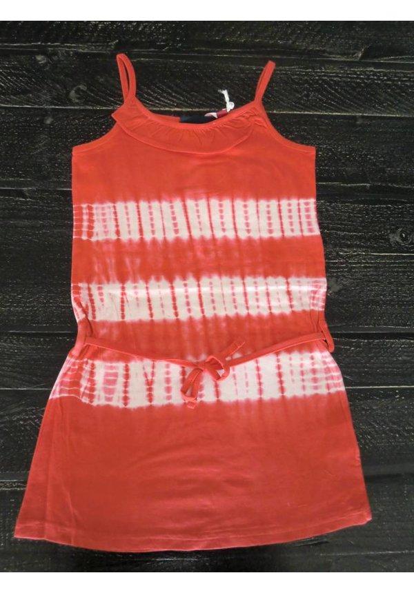 Tie and Dye rood jurkje van Knot so Bad