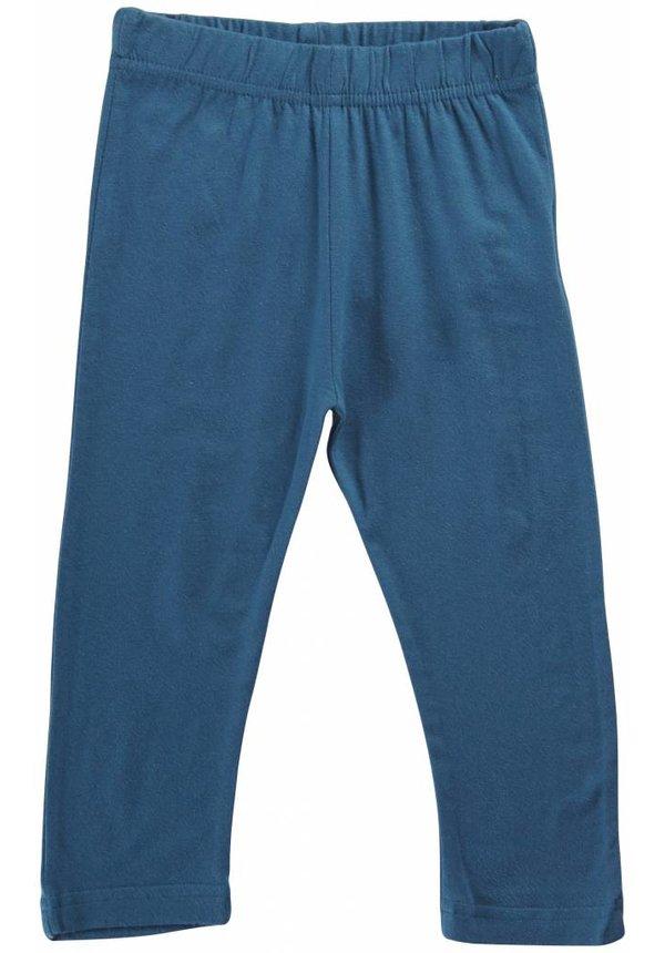 Petrolgroenblauwe 3/4 legging van Maxomorra zomer 2014