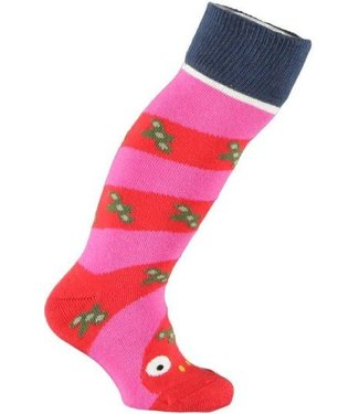 Ubang roze slangen sokken
