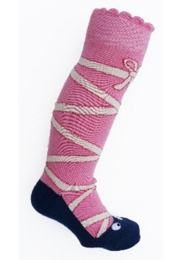 Roze ballerina sokken van Ubang