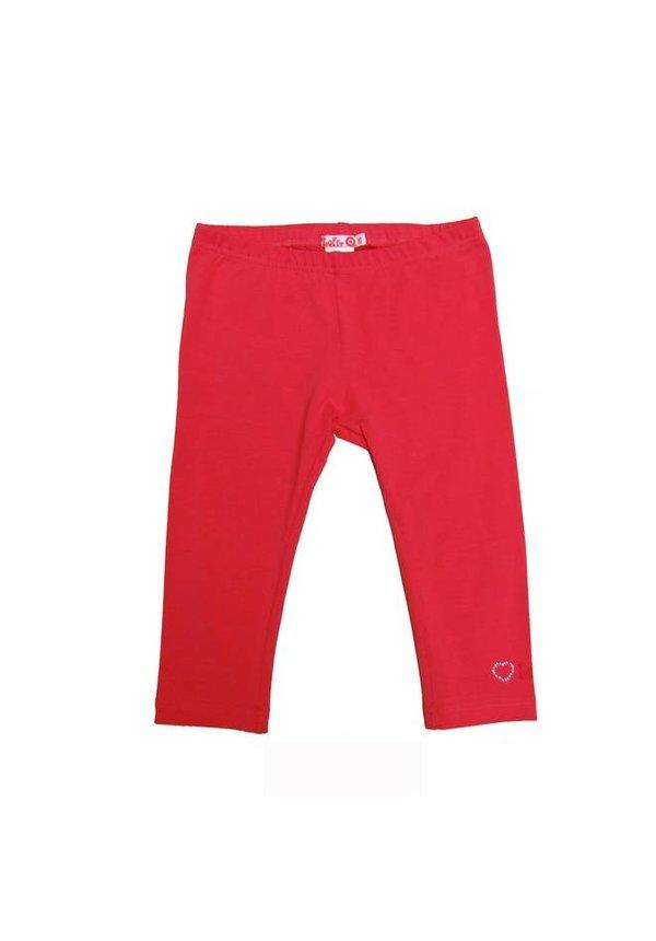 Legging driekwart in rood van LoFff