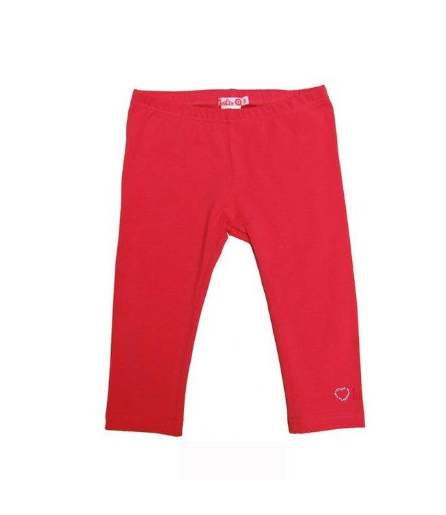 LoFff Legging driekwart in rood van LoFff