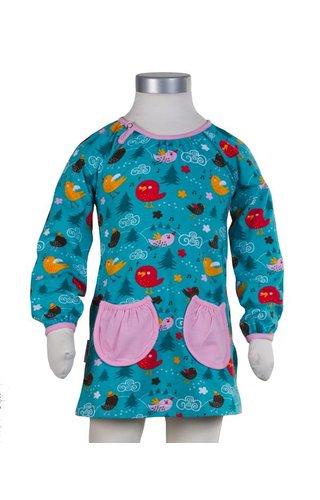 JNY Design tuniek jurkje met vogeltjes