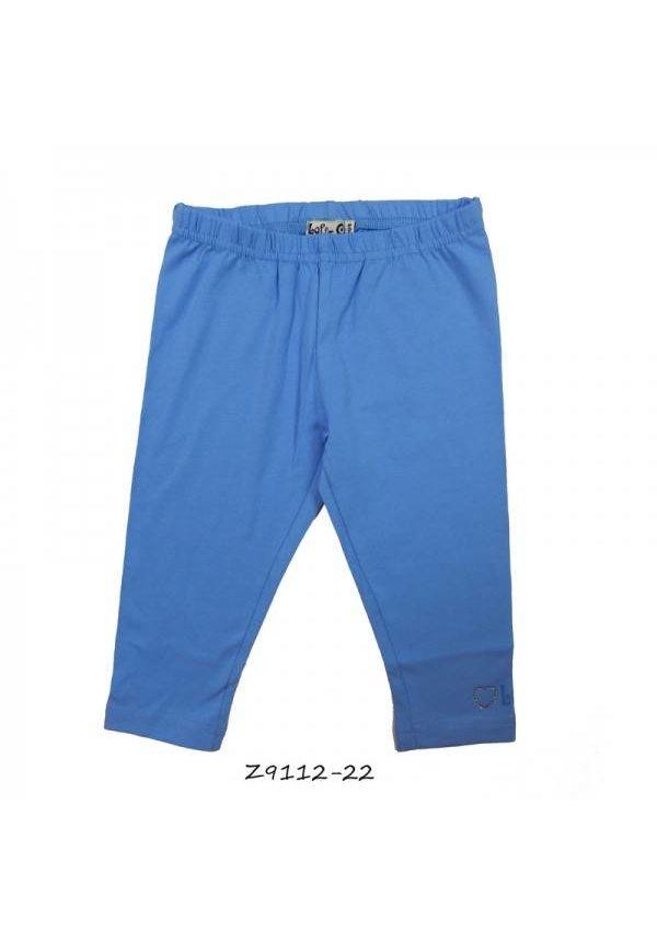 Legging driekwart in jeansblauw van LoFff