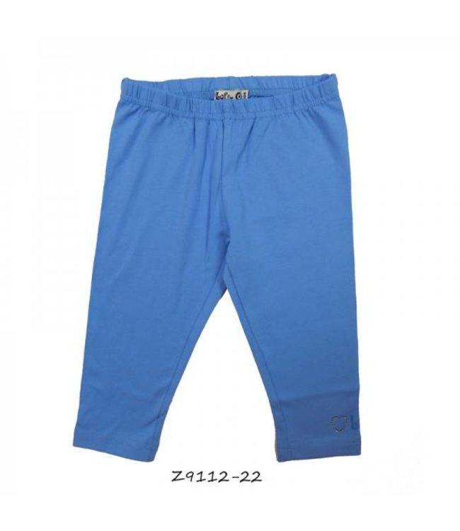 LoFff Legging 3/4 jeansblauw, mt 176