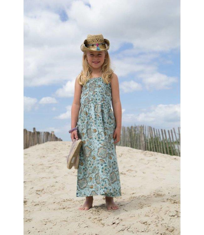 MIJN-kleding Strandjurk aqua van MIJN-Kleding zomer 2015
