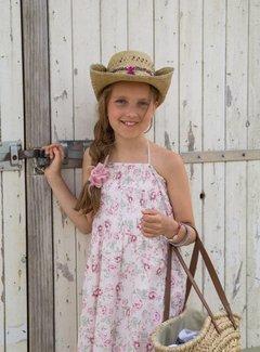 MIJN-kleding Enkellange strandjurk romantische bloemen