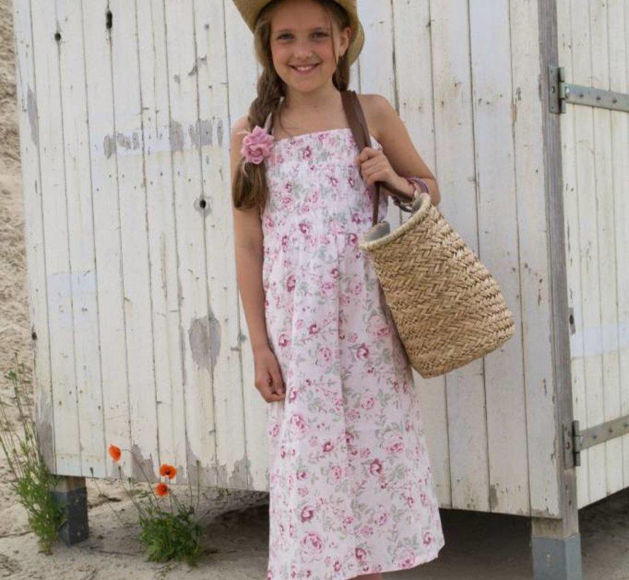 Strandjurk pink van MIJN-Kleding zomer 2015