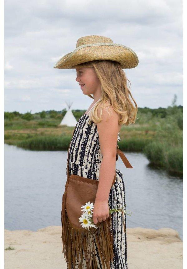 Strandjurk zwart-offwhite van MIJN-Kleding zomer 2015