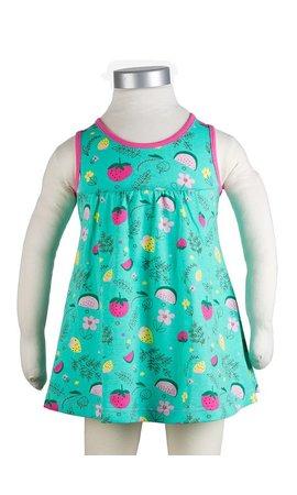 JNY Design mouwloos jurkje zomerfruit