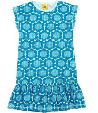 MTAF Bloemenjurkje blauw