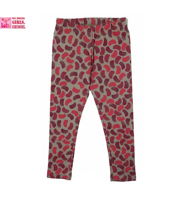 LoFff Roze brush legging