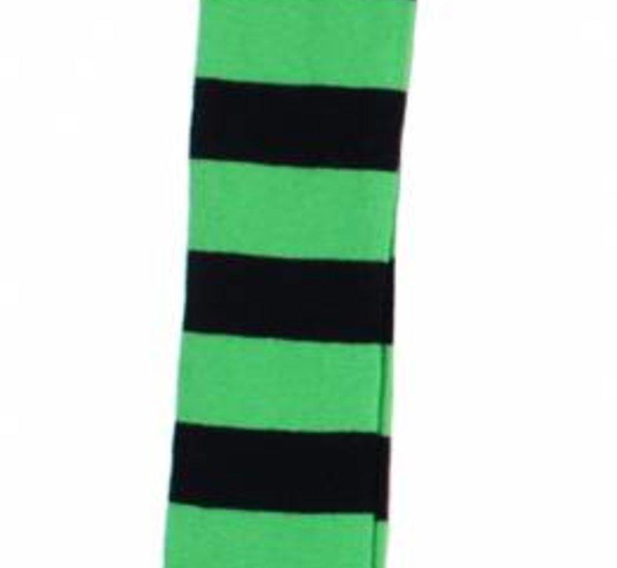 Streepmaillot groen/blauw van DUNS Sweden