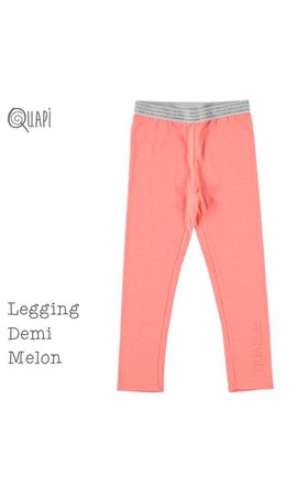 Quapi Quapi legging Demi melon oranje, mt 158/164